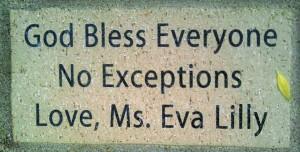 Ms. Eva Lilly Brick